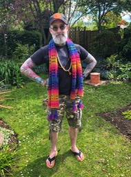 SharonsRainbowScarf